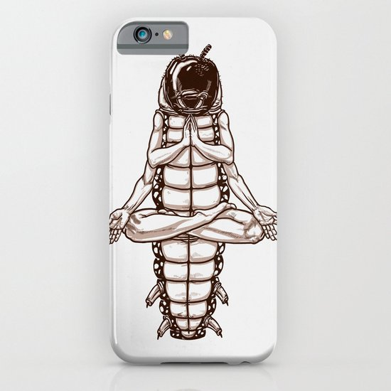 Caterpillar´s meditation iPhone & iPod Case