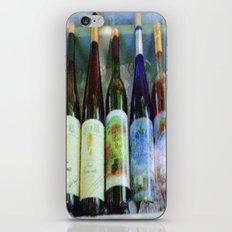 vino time iPhone & iPod Skin