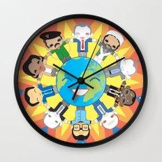 THE WORLD ROBOTIC Wall Clock
