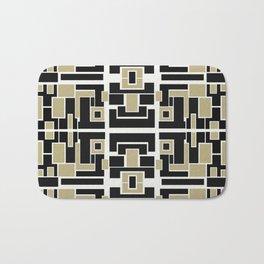 Square Boxes Design Bath Mat