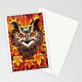 Magical October Stationery Cards