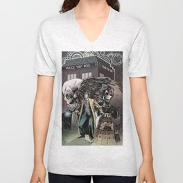 10th doctor Unisex V-Neck