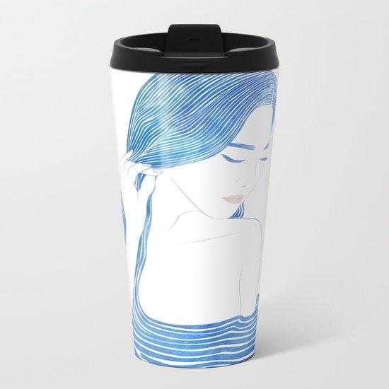 Water Nymph LXIX Metal Travel Mug