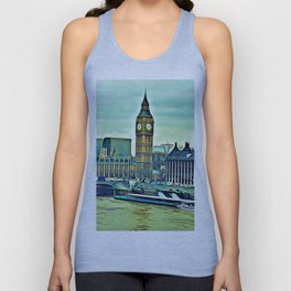 Palace of Westminster Unisex Tank Top