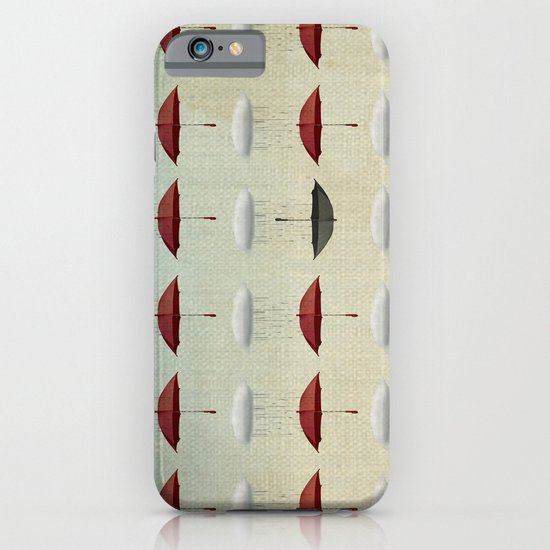 embracing the rain pattern iPhone & iPod Case