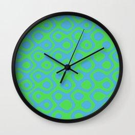 Brain Coral Green - Coral Reef Series 021 Wall Clock