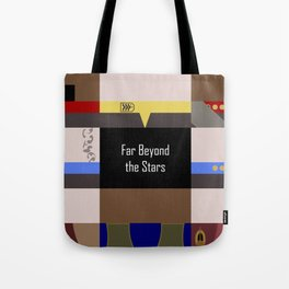 DS9 - Far Beyond the Stars - Minimalist Star Trek DS9 Deep Space Nine - startrek - Trektangles Tote Bag