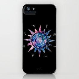 Crystal Sun | Planet Symbol | Watercolor iPhone Case