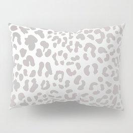 Silver Leopard Pillow Sham