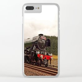 Flying Scotsman 60103 Clear iPhone Case