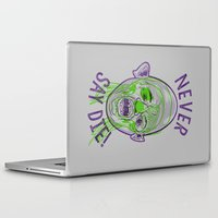 the goonies Laptop & iPad Skins featuring Never say die! by Gimetzco's Damaged Goods