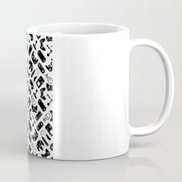 Control Your Game - Black on White Coffee Mug