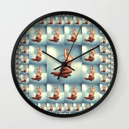 Naked Mosaic Wall Clock