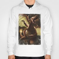 charizard Hoodies featuring Charizard by Juan Hugo Martinez Illustrations