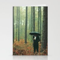 suits Stationery Cards featuring Trees In Suits by Matt(ikus)