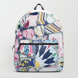 Gaudi Park Guell Mosaic Backpack