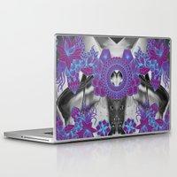 geode Laptop & iPad Skins featuring Geode 2 by michiko_design