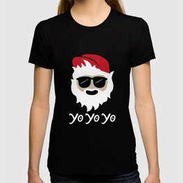 Yo Yo Yo Cool Dude Santa T-shirt