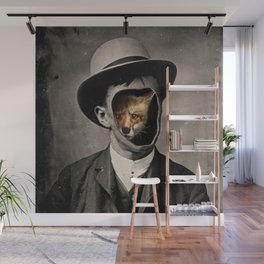 Gentleman Fox Wall Mural