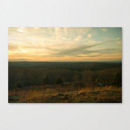 ENTERING DUSK Canvas Print