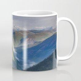 The Mountains of Glacier National Park Coffee Mug