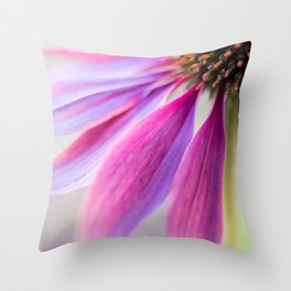 Petal Pink Throw Pillow