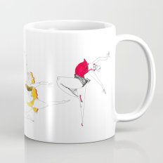 dancer in red Coffee Mug