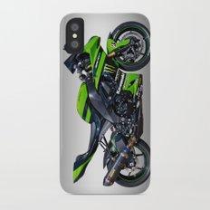 Kawasaki Motorbike iPhone X Slim Case