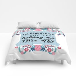 Stockholm Syndrome Comforters