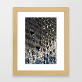 Metallic reflection Framed Art Print