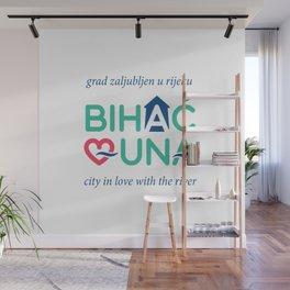 BIHAC LOVES UNA Wall Mural