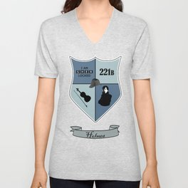 Sherlock Coat of Arms Unisex V-Neck
