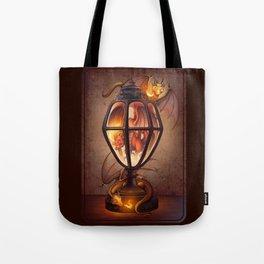 The Dragon Lantern Tote Bag