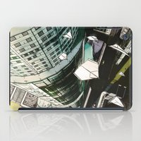 planes iPad Cases featuring Paper Planes by Tom Alex Buch
