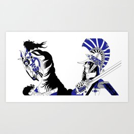 The Queen of Spades - The Officer Art Print