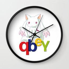 Kyubey Wall Clock