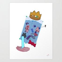 Water Man Art Print
