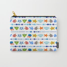 Coral reef fish coral star Carry-All Pouch