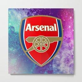 Arsenal Galaxy Design Metal Print