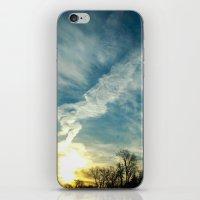 matisse iPhone & iPod Skins featuring Matisse Sunrise by Adam Clark