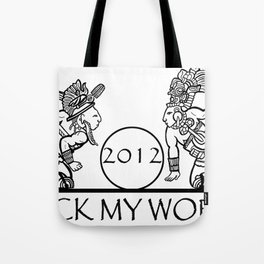 2012 Mayan Players - Rock My World (Tshirt) Tote Bag