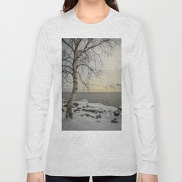 Curves of the Silver Birch by Teresa Thompson Long Sleeve T-shirt