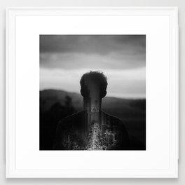 Some places never let you go Framed Art Print