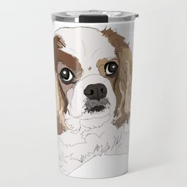 Harley the Blenheim Cavalier Travel Mug