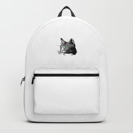 Hello Darkness My Old Friend Funny Cat Lovers Cat Mom Dad Backpack