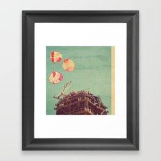 copper dust Framed Art Print