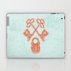 Keys and Lock Laptop & iPad Skin