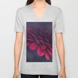power of bloom Unisex V-Neck