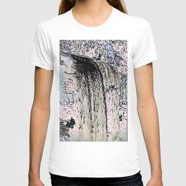 "series waterfall ""Cachoeira Grande"" I T-shirt"