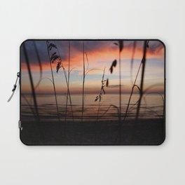 Sunset Sea Grass Laptop Sleeve